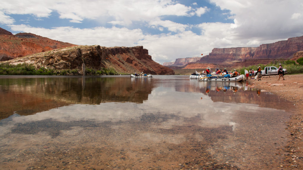 In Lees Ferry starten die Rafting Touren auf dem Colorado durch den Grand Canyon National Park