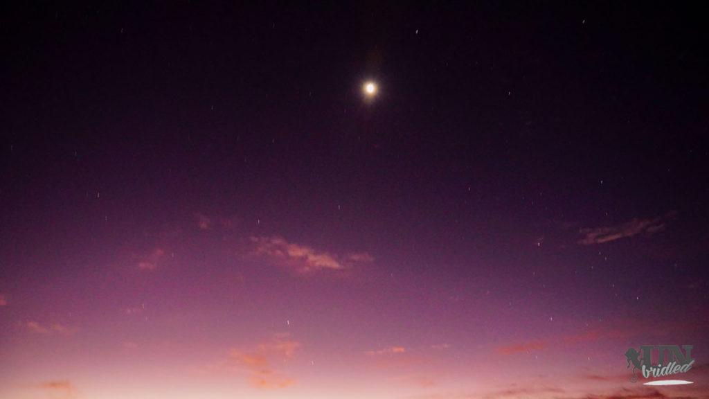 Ein guter Ort, um Sterne zu beobachten