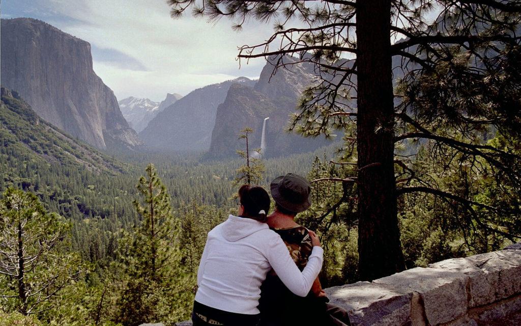 Zwei Jahre später sieht meine Mutter endlich das Yosemite Valley