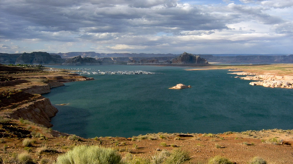 Lake Powell und Wahweap Marina, Safetravels