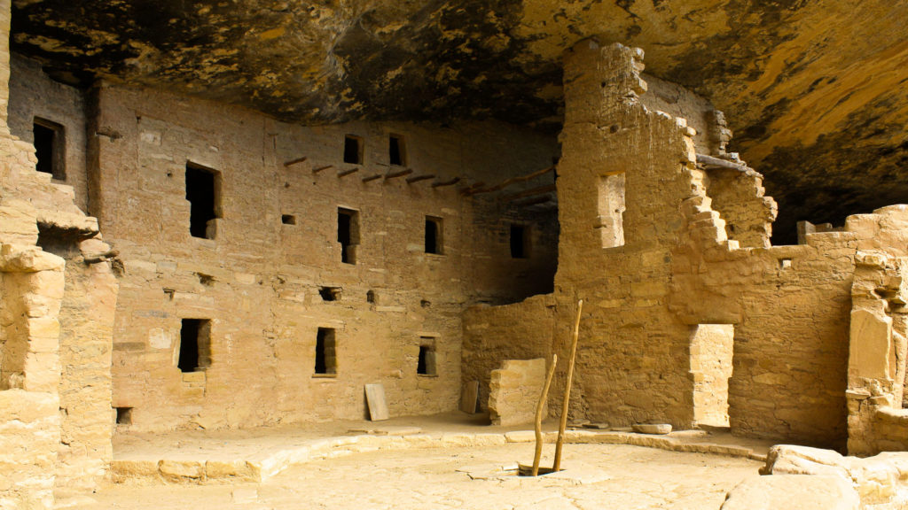 Spruce Tree House im Mesa Verde National Park