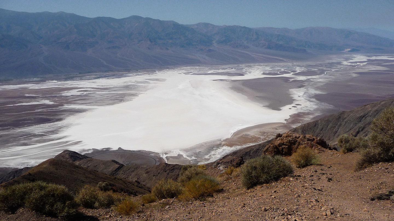 Eine der schönsten Aussichten im Death Valley: Dantes View
