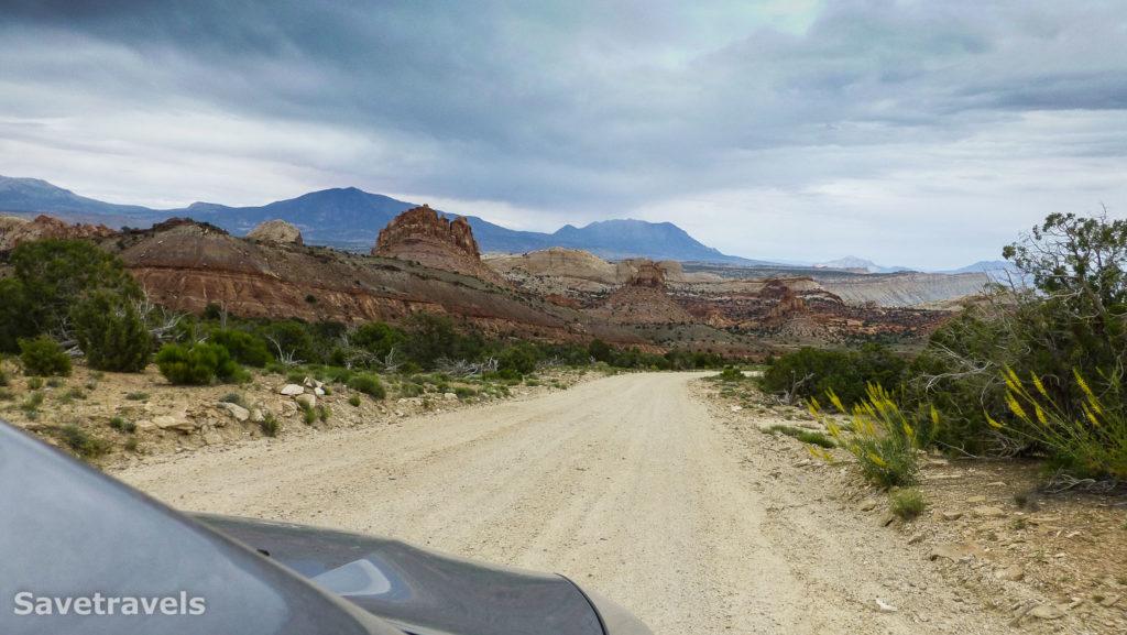 Unterwegs auf dem Burr Trail