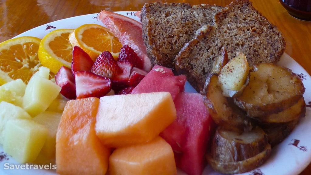 Das allerbeste Banana Bread gibt´s im Capitol Reef Inn & Cafe