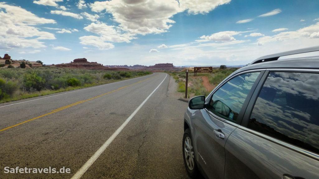 Eingang zum Canyonlands National Park