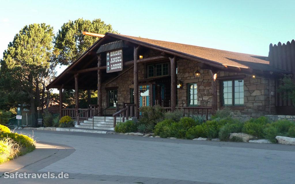 Bright Angel Lodge direkt am Rim