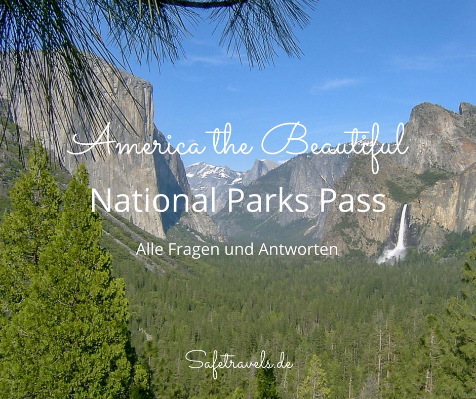 National Park Pass – America the Beautiful
