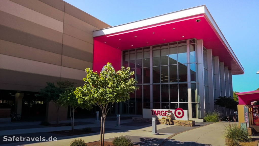 Zweistöckiger Target in ABQ - Shopping Paradies