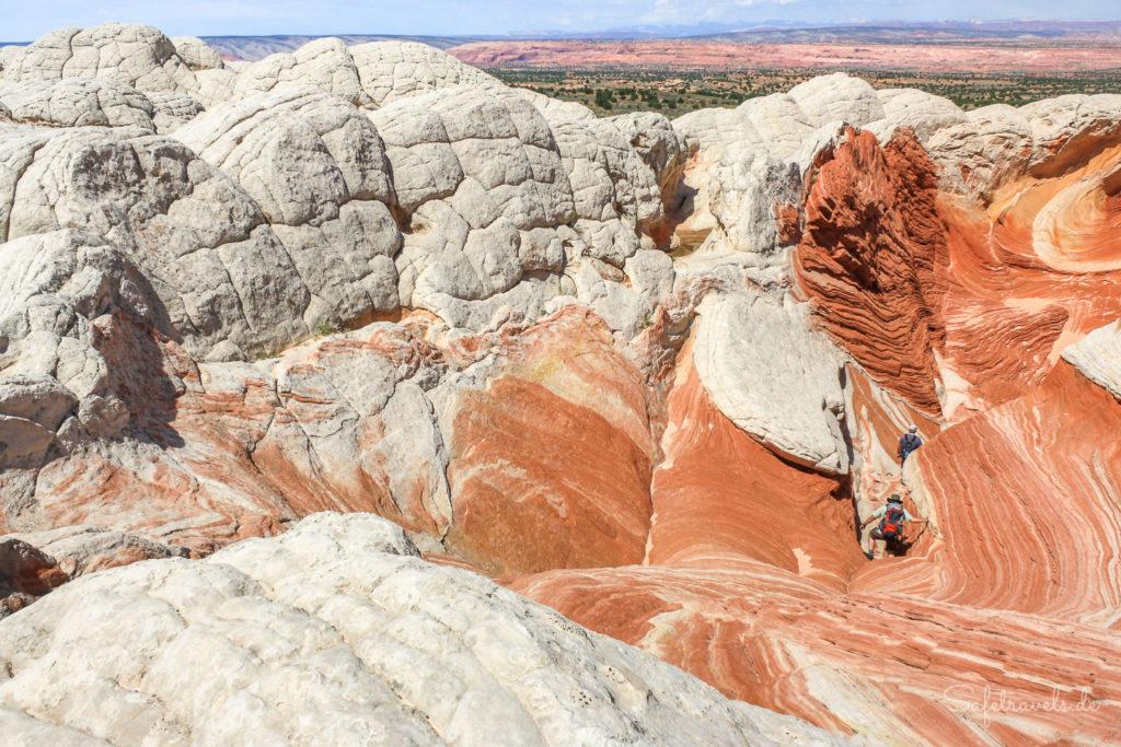 Ganz ohne Trails: geführte Tour zur White PocketGanz ohne Trails: geführte Tour zur White Pocket