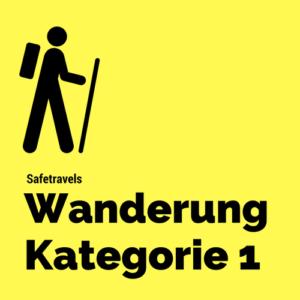 Wanderung Kategorie 1