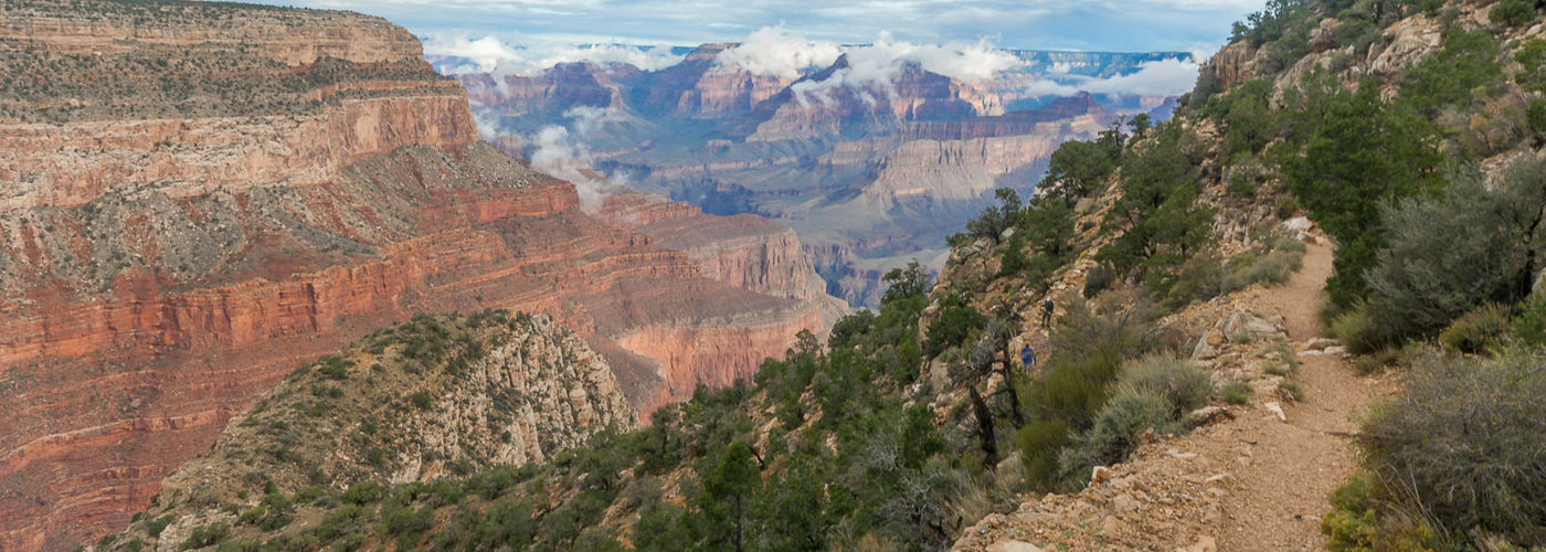 Hermit Trail Grand Canyon Blog Titel