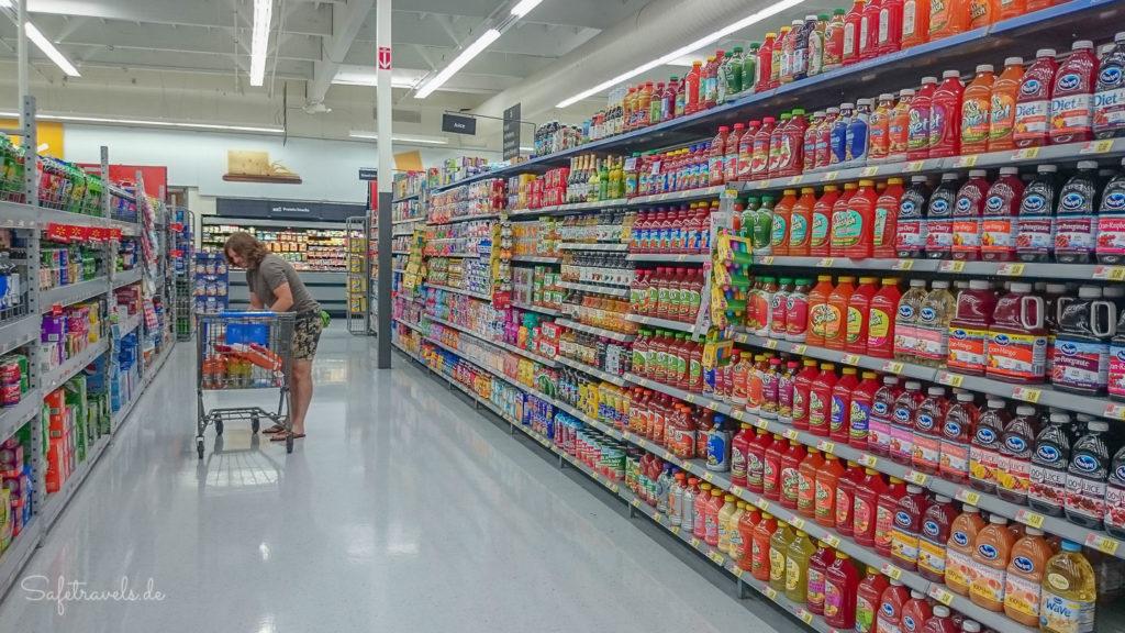 Mega Auswahl im Walmart