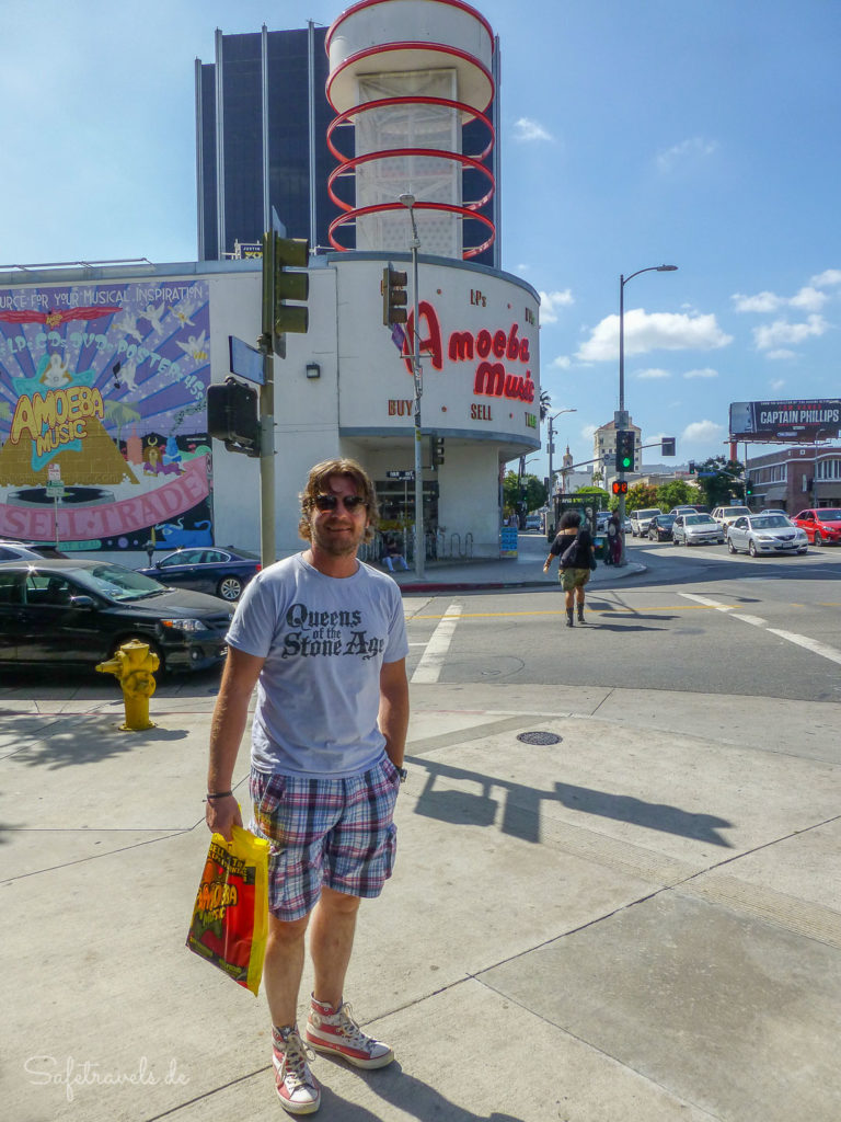 Amoeba Music Store in Hollywood