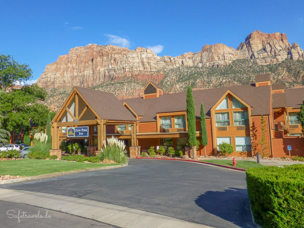 Zion Park Inn in Springdale (jetzt Holiday Inn Express)