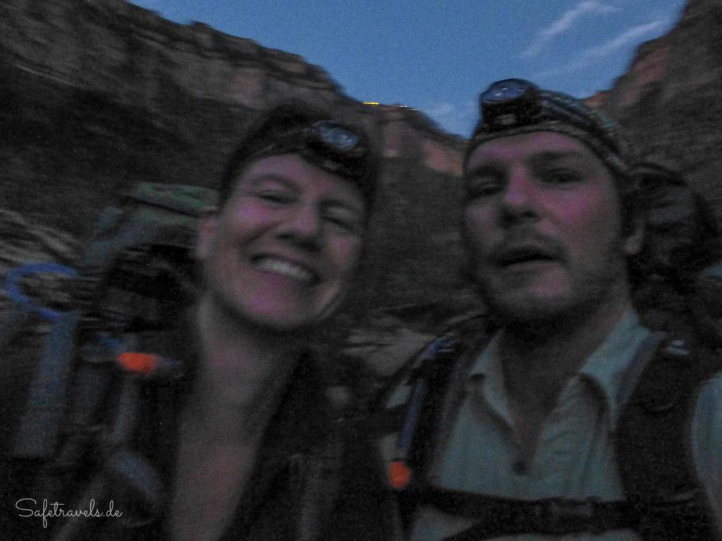 Trekking-Spaß mit der Kopflampe