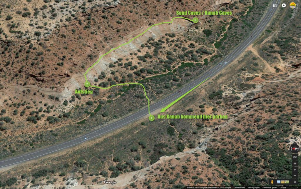 Kanab Sand Caves - Geheimtipp Wandern