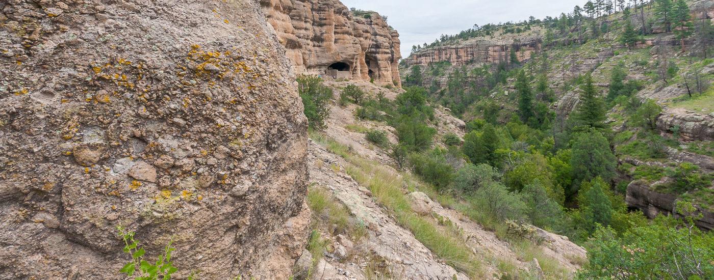 Gila Cliff Dwellings Blog Titel