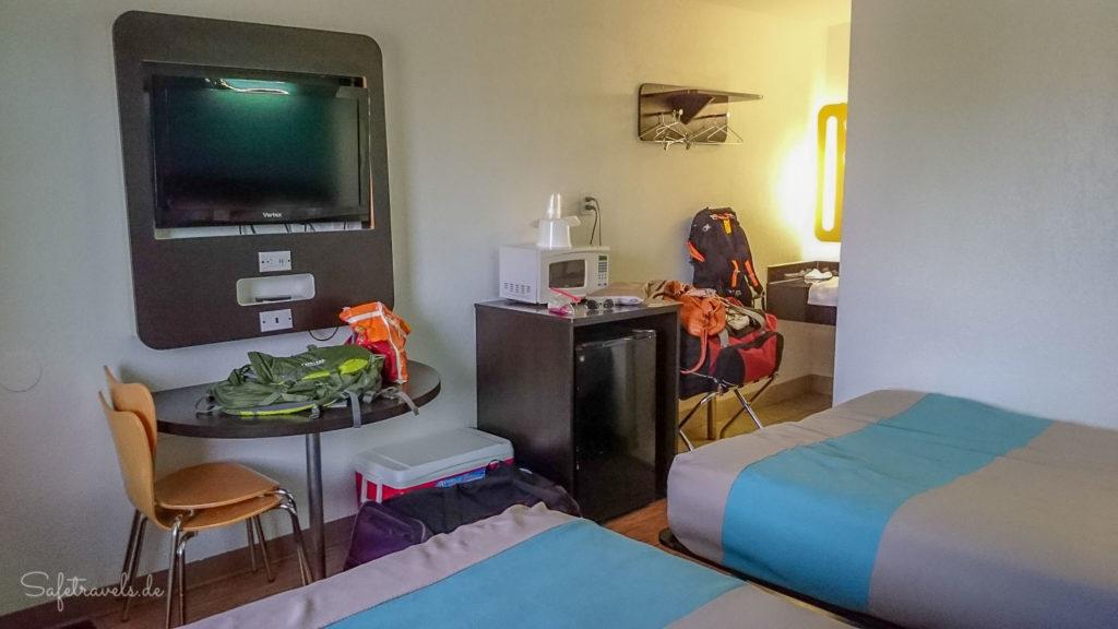 Hinter den Kulissen: ein ganz normales Hotelzimmer
