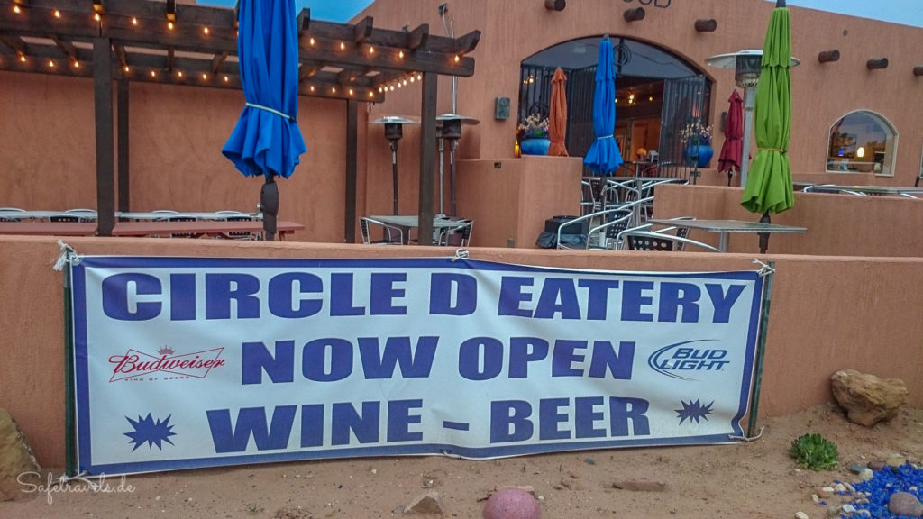 Circle D Eatery in Escalante