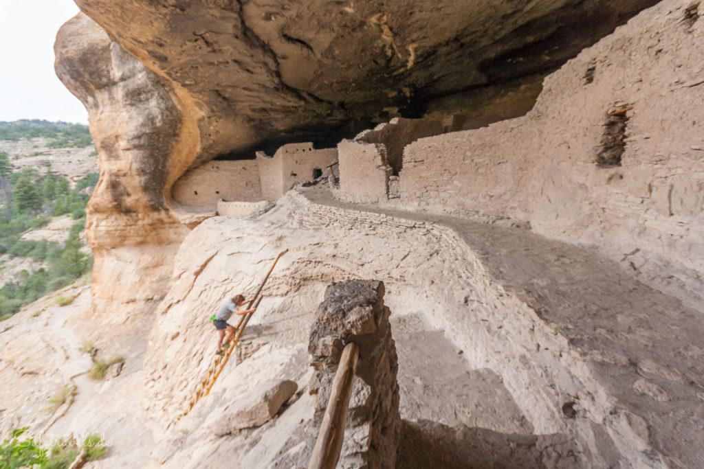 Abstieg aus Höhle 4