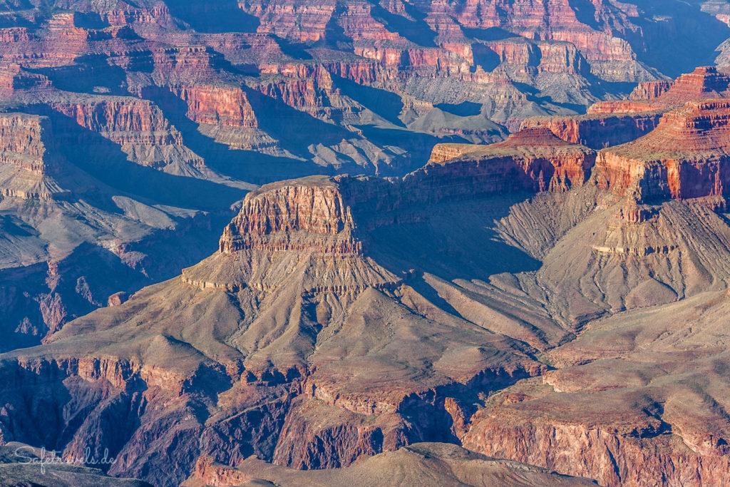 Grand Canyon - klassische Ansicht vom South Rim
