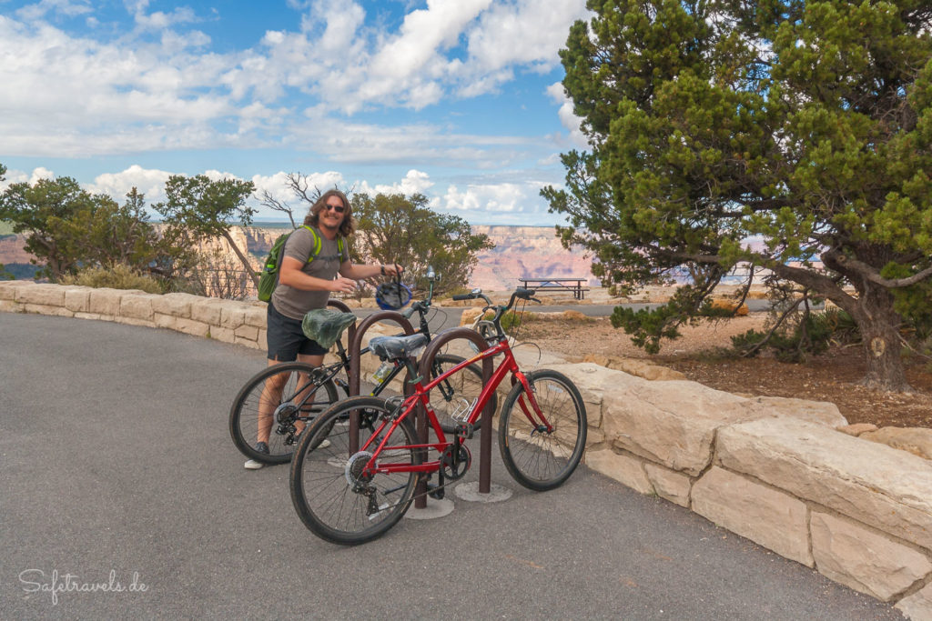 Biking Grand Canyon