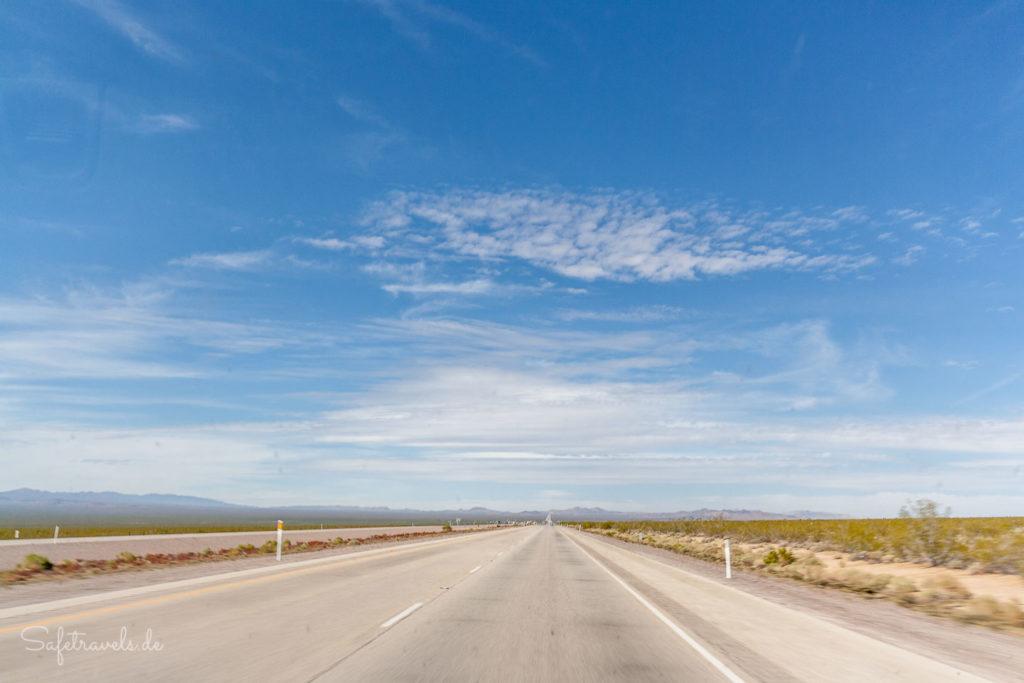 Highway 95 Richtung Vegas
