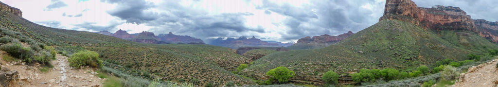 Plateau Point Trail Panorama