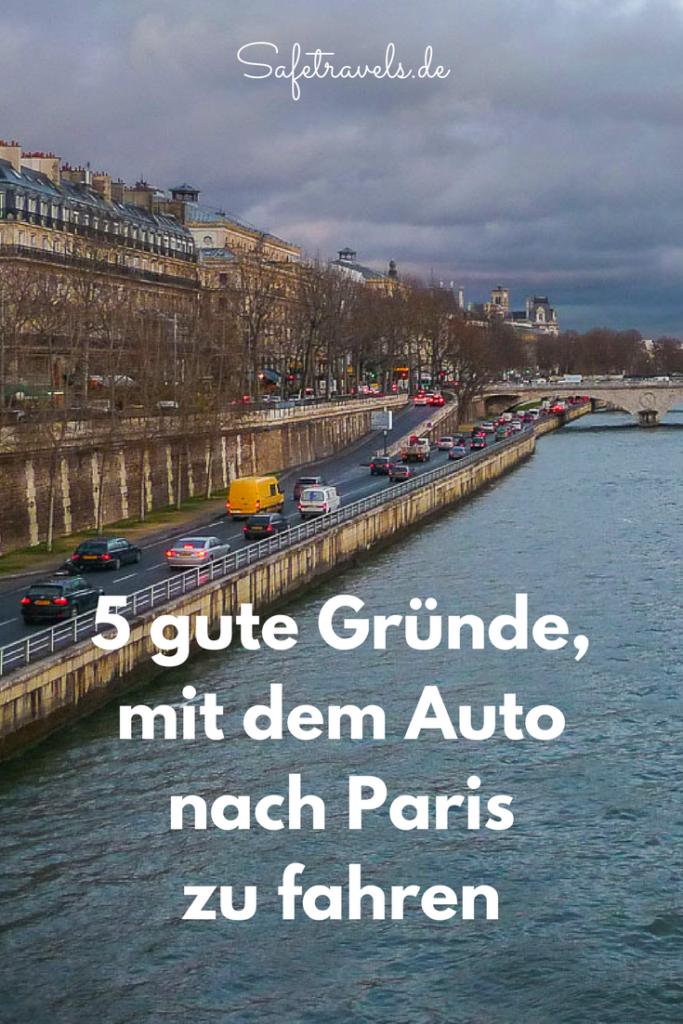 Mit dem Auto nach Paris Pin