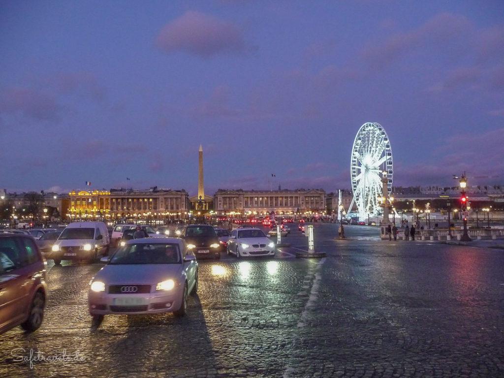 Selber fahren am Place de la Concorde?