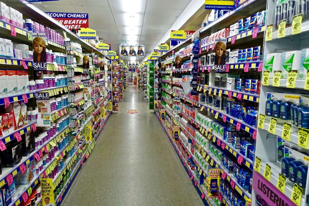 Drugstore in den USA (Quelle: Pixabay)