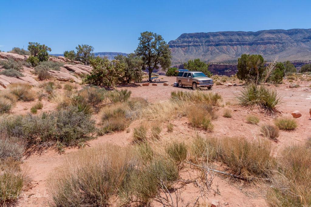 Angekommen am Toroweap Point - Grand Canyon