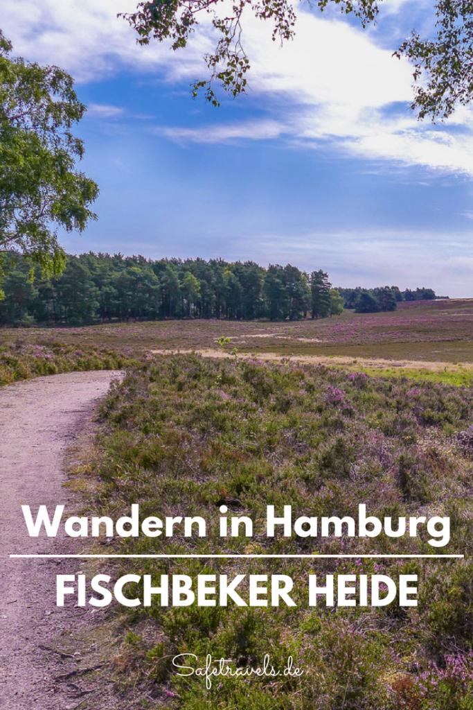 Wandern in Hamburg Fischbeker Heide Pin