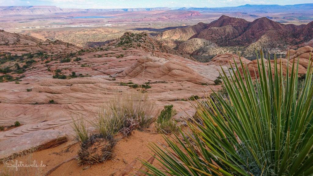 Candy Cliffs - Blick ins Tal