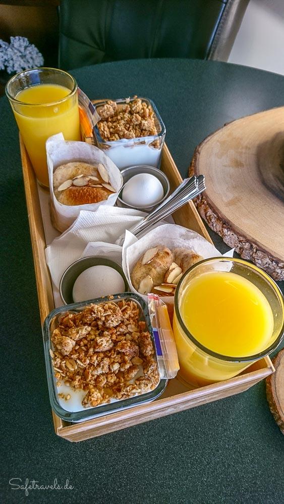 Frühstück im Inn on the Cliff