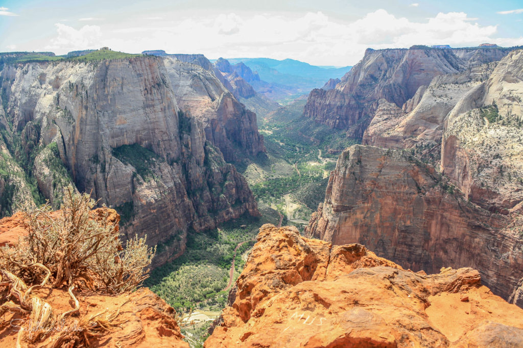 Wanderung Observation Point - Zion National Park