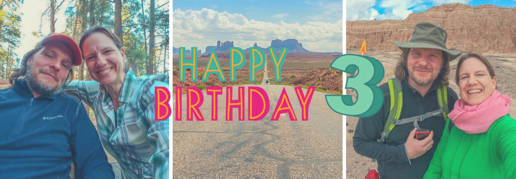 Drei Jahre Safetravels.de – Happy Blog Birthday