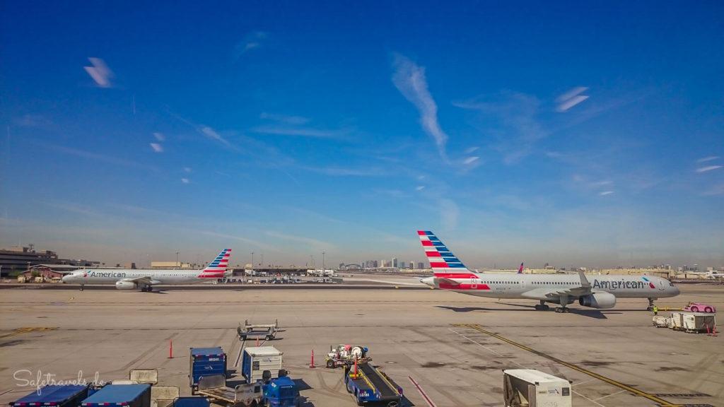 Am Flughafen in Phoenix