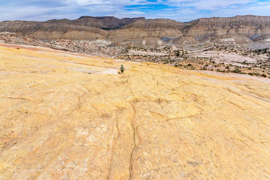 Beim Abstieg vom Yellow Rock
