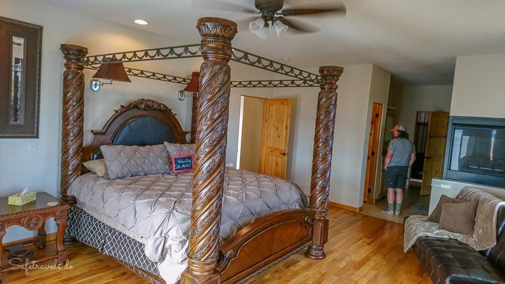 Burro Flats High Desert Lodge - unser Zimmer im Erdgeschoss
