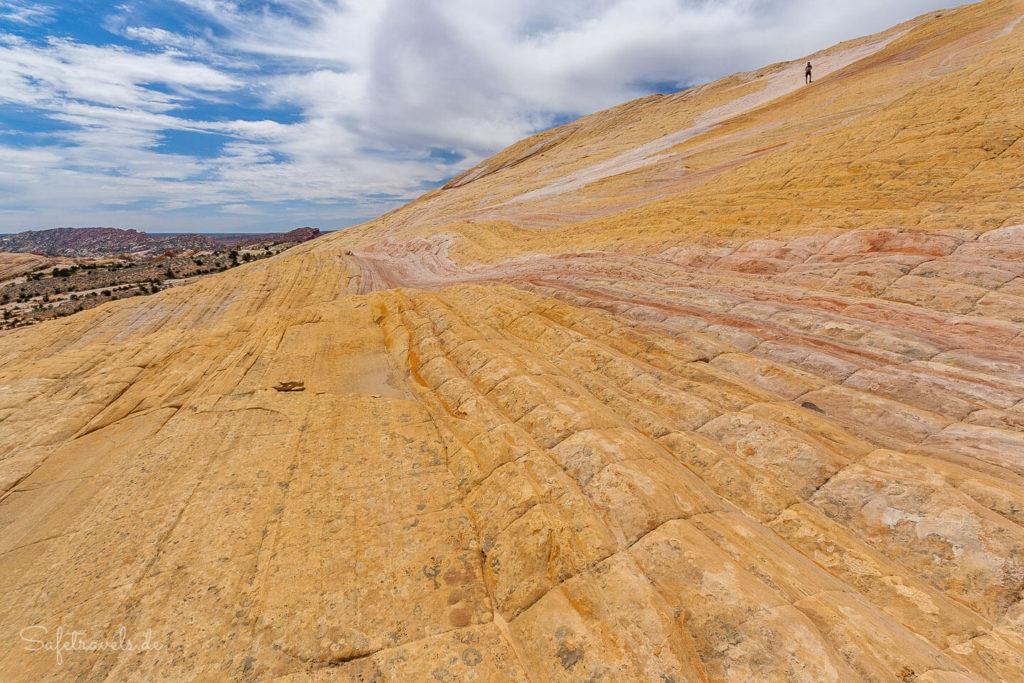 Farbrausch an der Südostflanke des Yellow Rock
