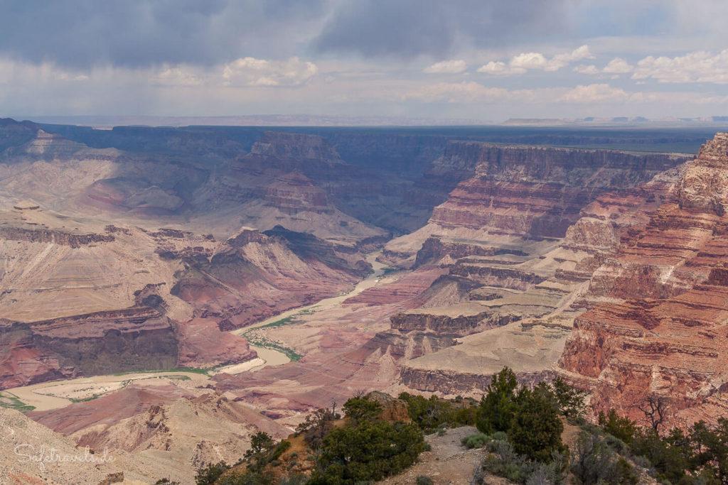 Weitblick am Desert View
