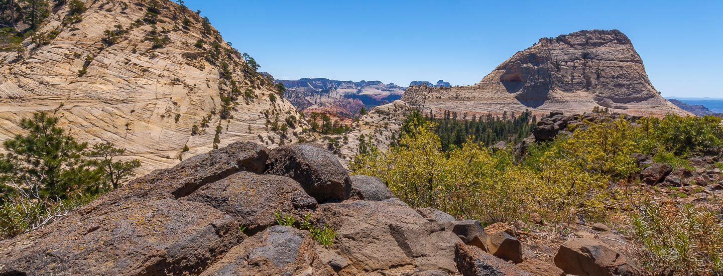 Zion National Park Wildcat Canyon Northgate Peaks Blog Titel