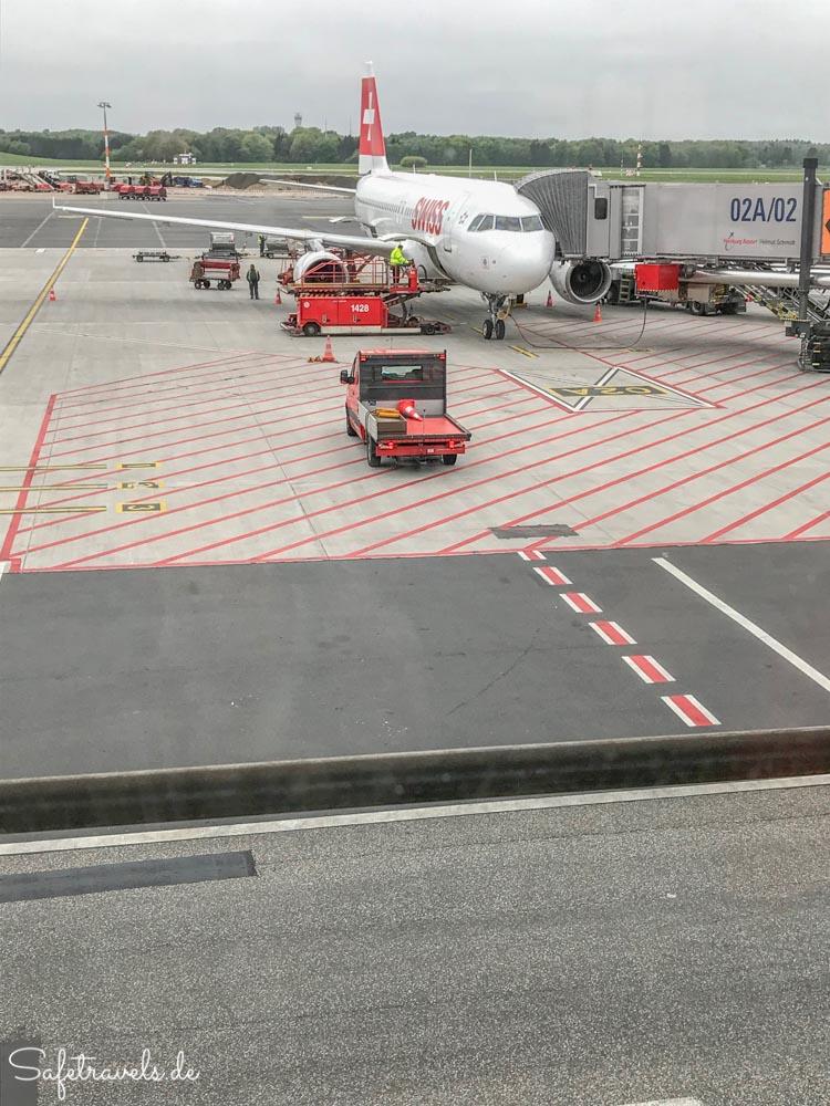 Abflug aus Hamburg