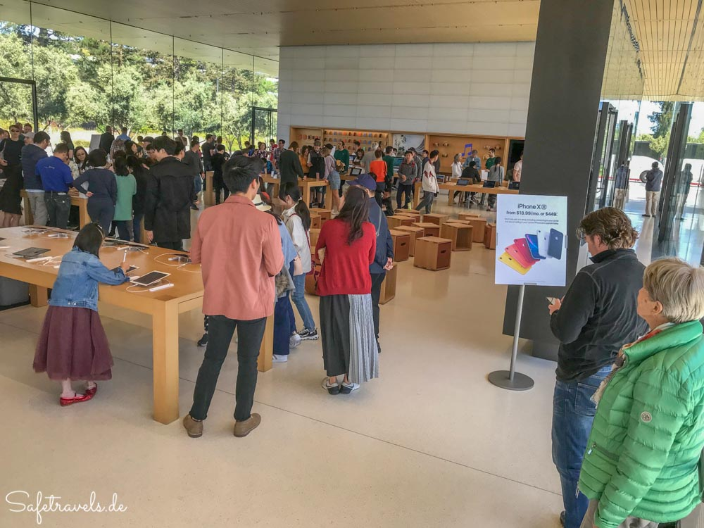 Apple Visitor Center in Cupertino