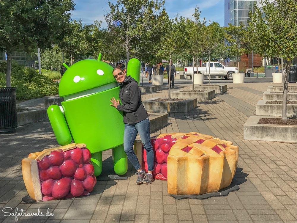 Auf dem Google Campus