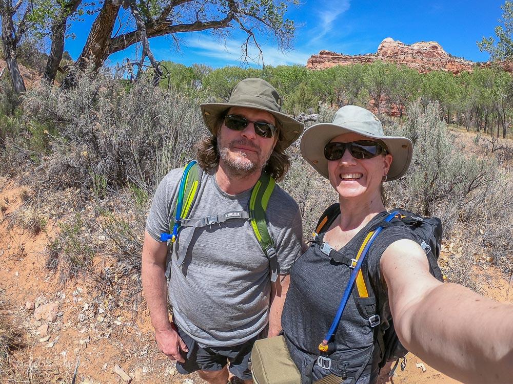 Coole Wanderung im Escalante River Canyon