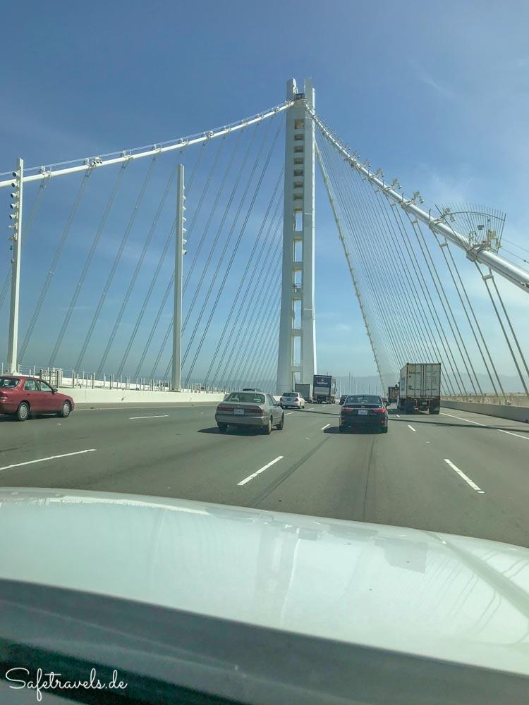 Der neuere Teil der Oakland Bay Bridge
