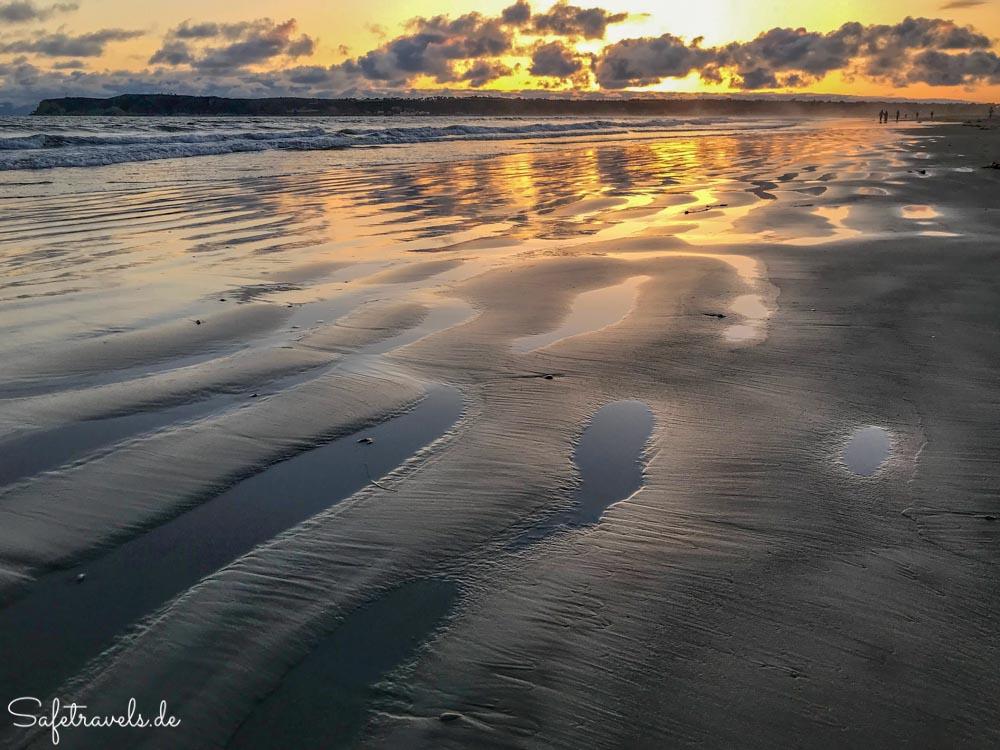Farbenprächtiger Sonnenuntergang auf Coronado Island