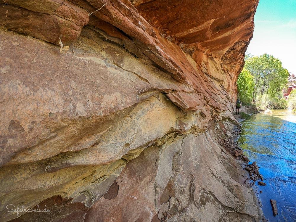 Felsformationen im Escalante River Canyon